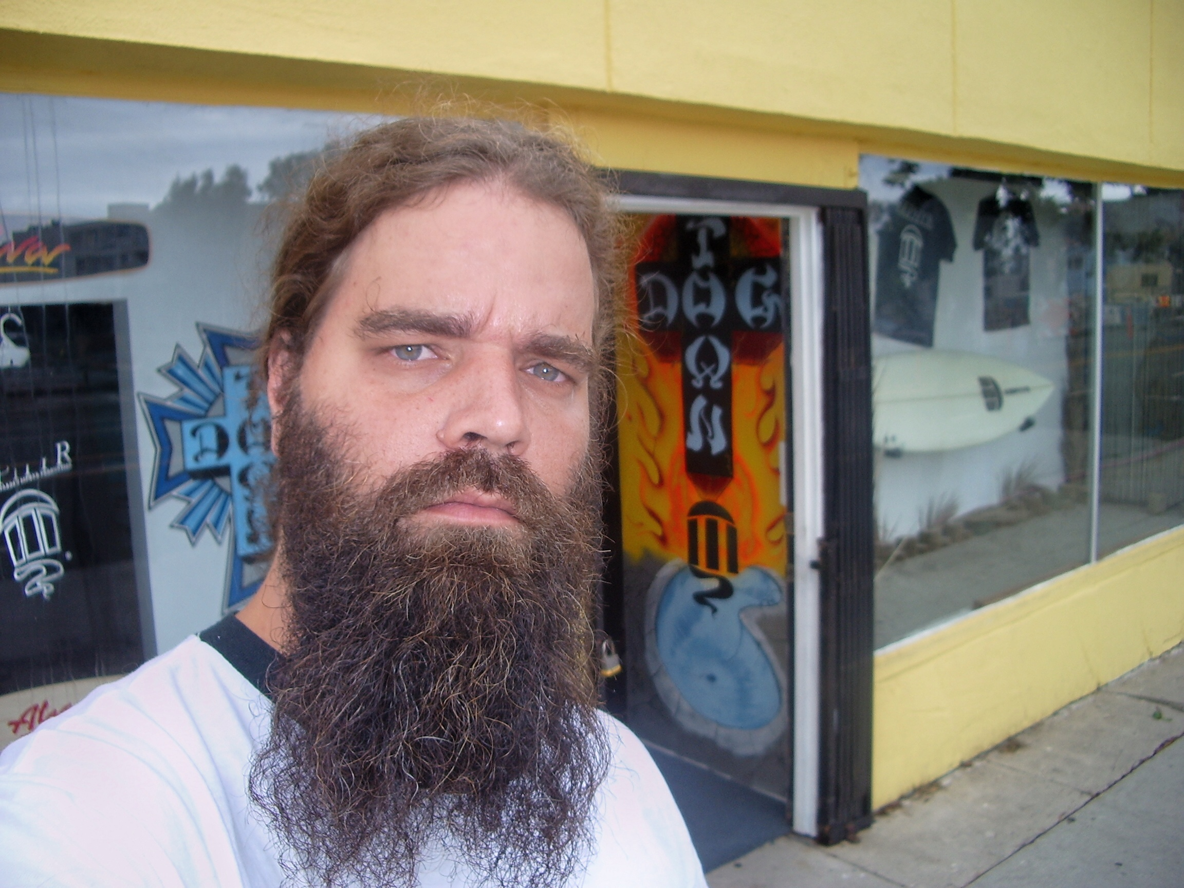 Jack on a pilgrimage to the Dogtown Shop in Los Angeles.