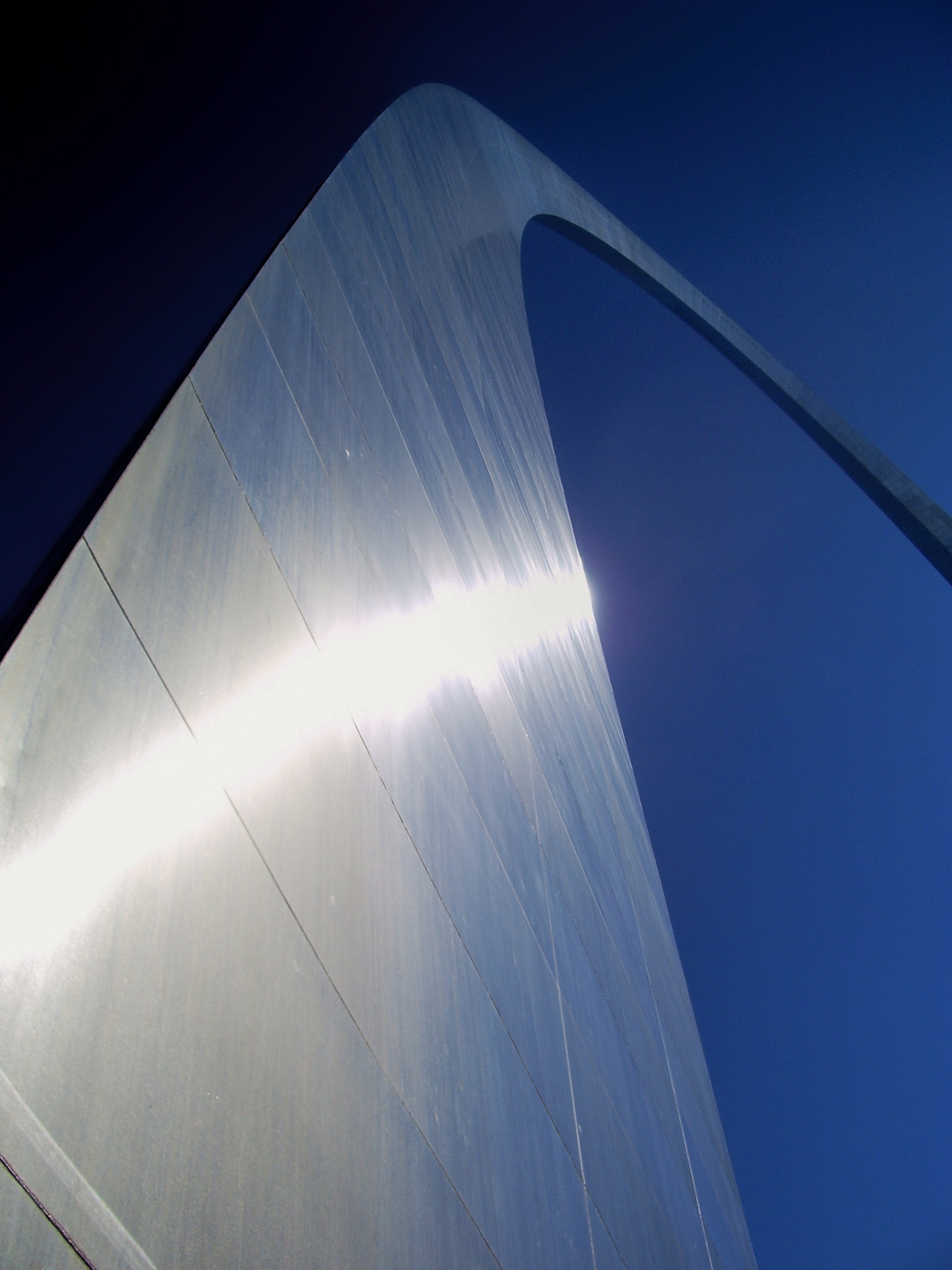 The Arch in St. Louis.